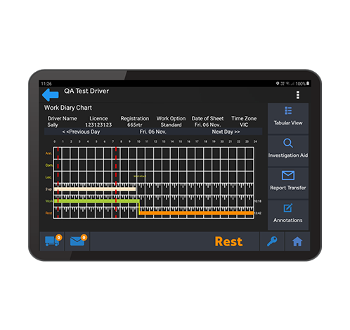 MTData's Electronic Work Diary approved by NHVR
